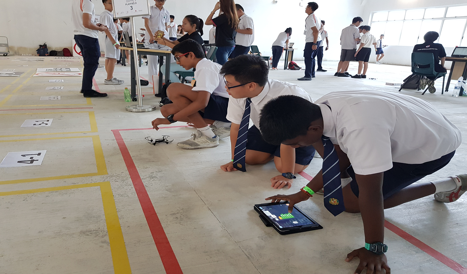 Drone Odyssey Challenge | Science Centre Singapore