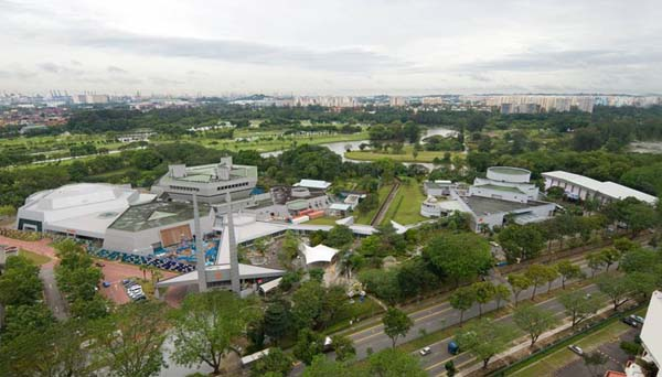 Sciece Centre aerial view