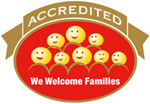 We Welcome Families logo
