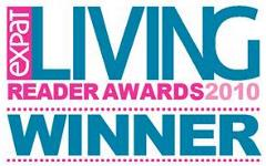 Expat Living Reader Awards 2010 logo