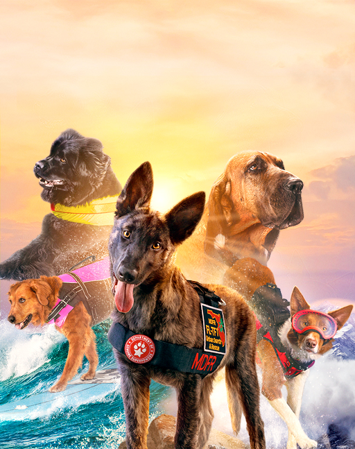 Superpower Dogs Narrated by Chris Evans