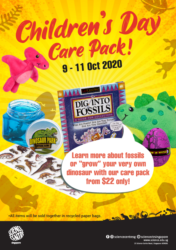 Science Centre Singapore Children's Day Care Pack