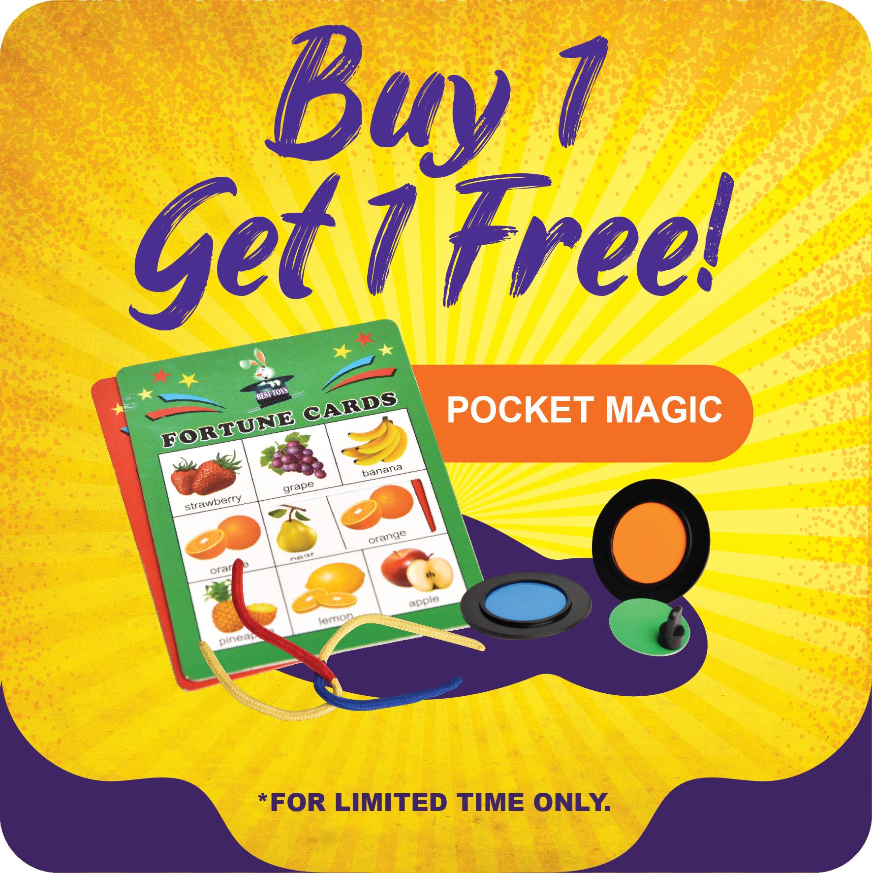 Curiosity Shop June Promotion - Pocket Magic