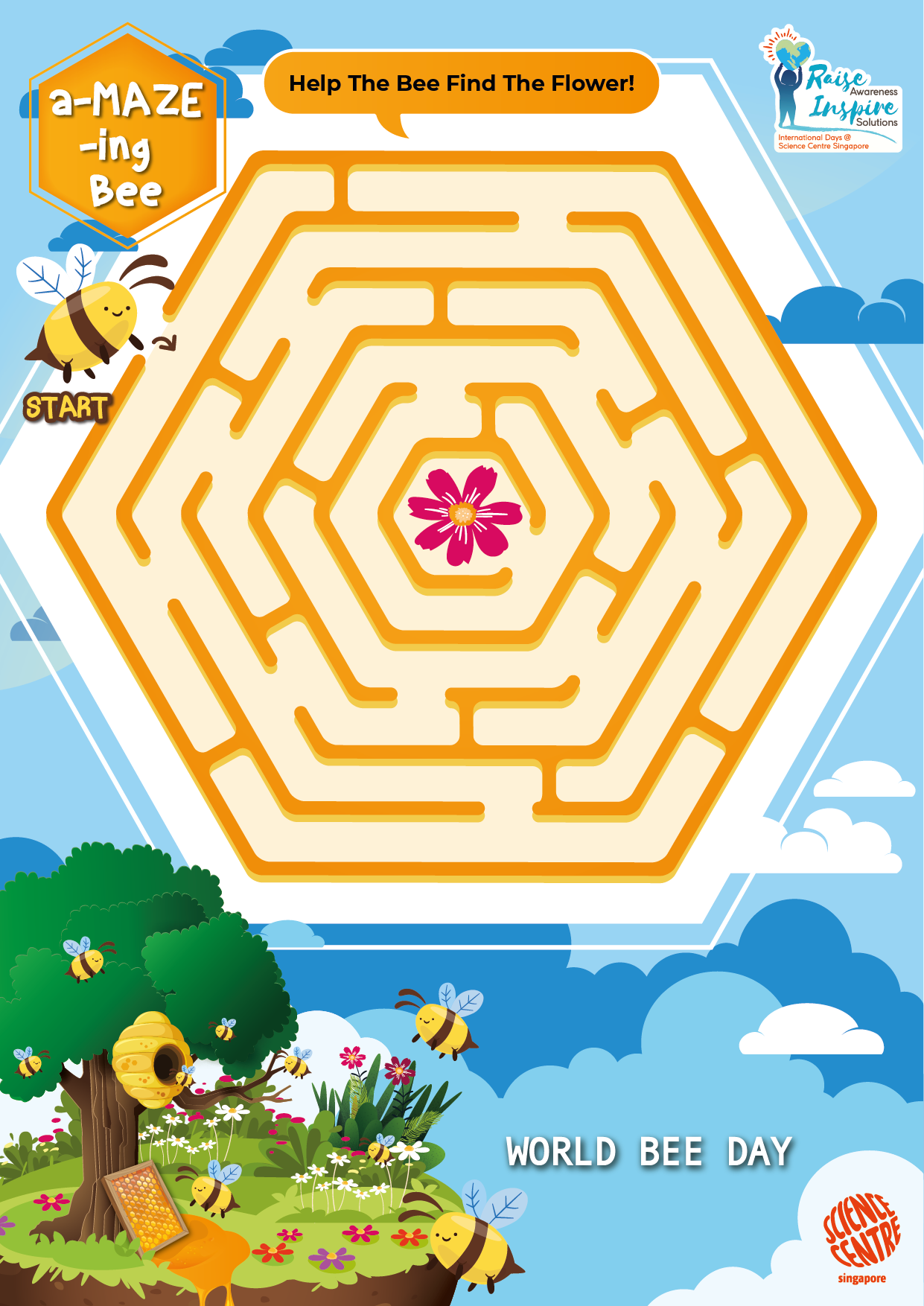 World Bee Day 2020 a-MAZE-ing Bee