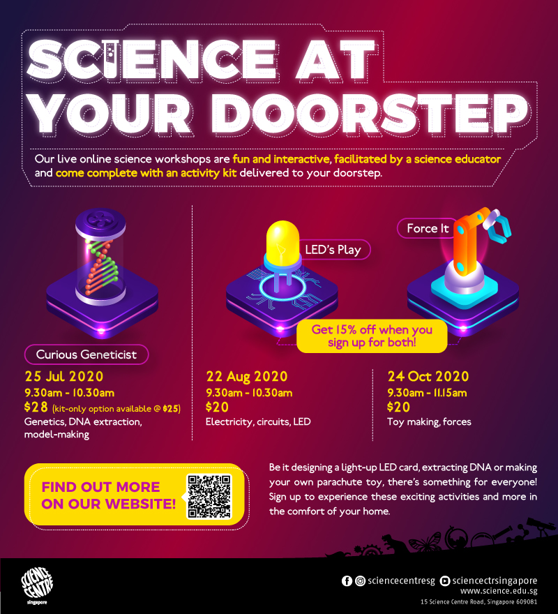 Science At Your Doorstep Programmes