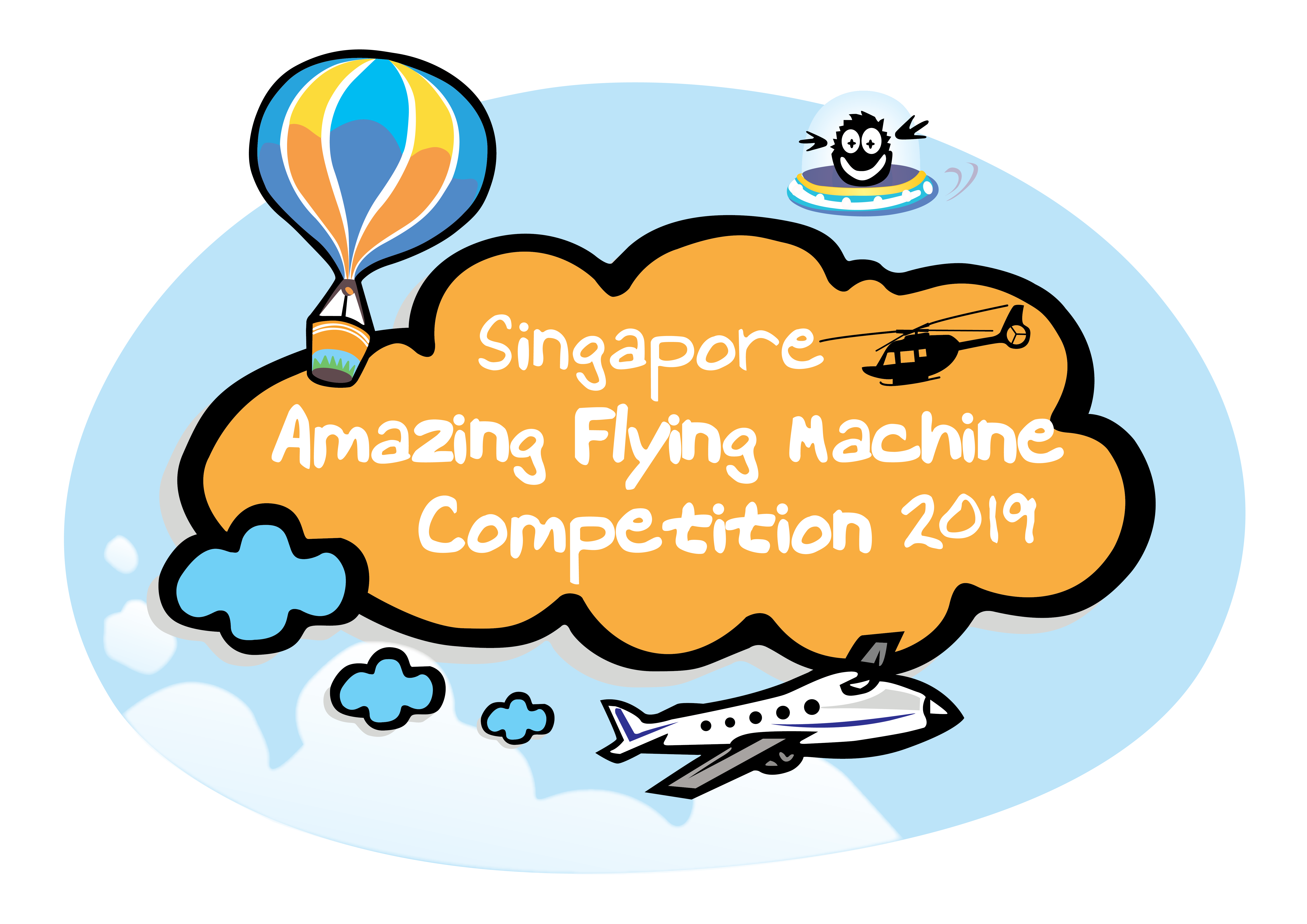 Singapore Amazing Flying Machine Competition 2019 | Science Centre