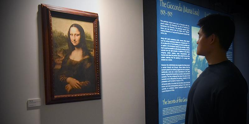 Da Vinci Web Image - Mona Lisa