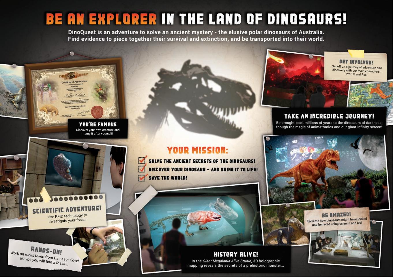 DinoQuest Mission