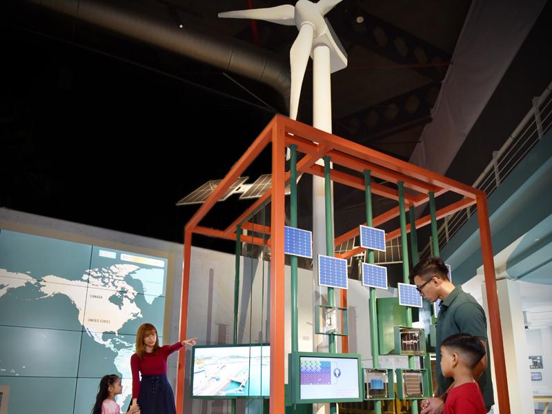 Energy Exhibition - Wind Turbine